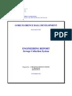Florence Hall Sewage Report