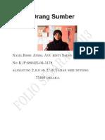 Folio Sejarah TINGKATAN 3 Kegiatan Ekonomi Tradisional Full Edition