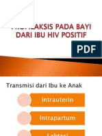 Profilaksis Pada Bayi HIV