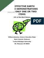 101 Earth Science Demos