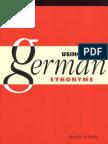 Using German Synonyms