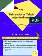 Risk Analizi Sunu-1