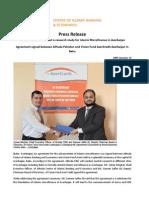 Press Release on Islamic Microfinance in Azerbaijan