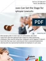 Forgiving Bosses Can Set the Stage for Employee Lawsuits