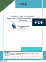 Ushering of New Era for NBFCs RBI Revamps Regulations
