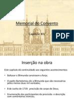 Português - Memorial do Convento - Trabalho PowerPoint