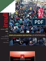 165 (aldizkari sindikala, revista sindical, journal syndical)