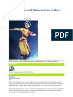 Dancer Who Brought Bharatanatyam