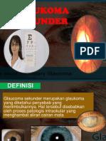 glaukoma sekunder