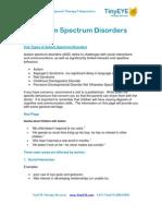 TinyEYE.com Autism Spectrum Disorders