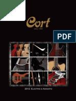 Cort Catalog 2012
