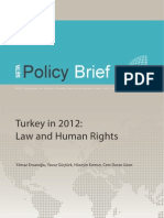 Turkey in 2012 Law and Human Rights