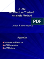 Architecture Tradeoff Analysis Method
