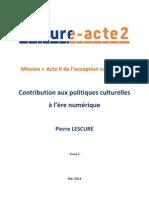 Rapport Lescure