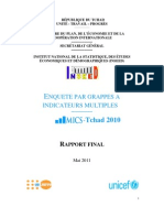ENQUETE PAR GRAPPES A INDICATEURS MULTIPLES MICS 2010