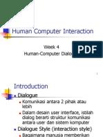 Kuliah 04 - Human Computer Dialogue