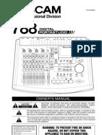 Audio - Manual Tascam 788