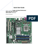 Intel D965GF Quick Start Guide