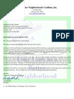 Pier 60 Park Playground Enhancement Opposition Letter
