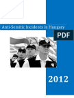 Antisemitic Incidents Hungary 2012 En