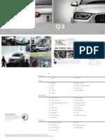 Audi Q3 Catalogue (Germany, 2013)