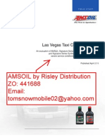 Transmission & Oil Testing of Amsoil by Risley Distribution.