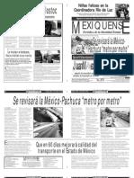 Versión impresa del periódico El mexiquense 13 mayo 2013