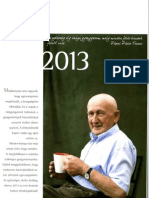 Szabó Gyuri bácsi füvesember naptára 2013-ra