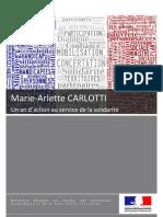 MA Carlotti, un an d'action au service de la solidarité