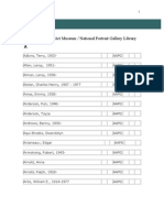 Smithsonian American Art Vertical File- AAPG