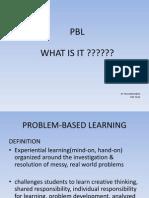 Problem-based Learning Jan2010