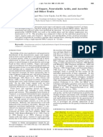 Determination of Sugars, Nonvolatile Acids, And Ascorbic