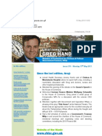 News Bulletin from Greg Hands M.P. #370