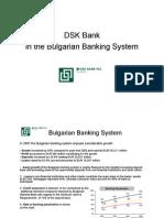 DSK BANK Presentation 2007