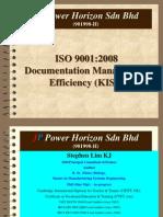 ISO 9001-2008 Documentation