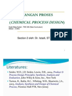 Presentasi Perancangan Proses Kimia 1