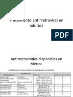 Tratamiento Antirretroviral en Adultos