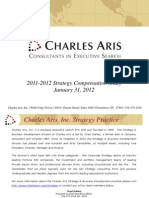 Charles Aris Strategy Consulting Compensation Study 2011-2012