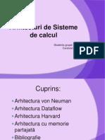 Arhitecturi sisteme de calcul