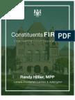 Constituents First - Empowering Local Legislators