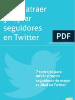 eBook Como Atraer y Captar Seguidores en Twitter Donna Moritz