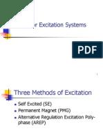 Tipos de Excitacion