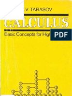 [L.v. Tarasov] Calculus - Basic Concepts for High
