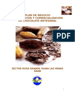 Plan de Negocio Chocolatero R G