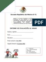 Informe Kinder 2012