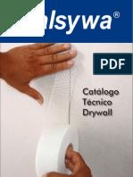 drywal catálogo walsywa