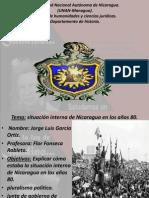 presentacion (situacion interna de nicaragua en los años 80)