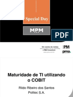 SpecialDAY Maturidade TI COBIT Rildo
