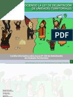 CONOCIENDO LA LEY DE DELIMITACIÓN DE UNIDADES TERRITORIALES