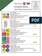 Sticker Catalog